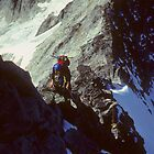 Climber, West Ridge,	Forbidden Peak by cascoly