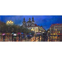 Prague Old Town Square Photographic Print