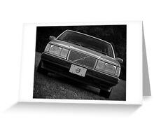 Volvo Greeting Card