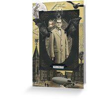 Viktor von Valkyrie: A Cautionary Tale Greeting Card