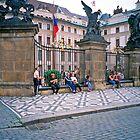 Government Centre, Prague, Czech Republic by Priscilla Turner