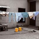 Washday Mindscape - Ibadan, Nigeria by Wayne King