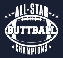 Buttball champions shirt by George Williams