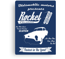 Rocket 88 Canvas Print