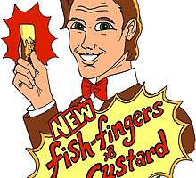 """""""New Fish-Fingers and Custard!"""" by SkyeWieland"""
