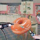 Man, Woman, Radioactive Donut by Donna Catanzaro