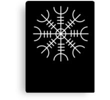 Ægishjálmur - Helm of Awe Symbol Canvas Print