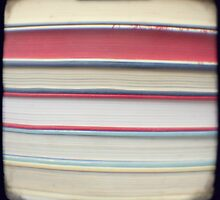 Red stripe books photograph by gailgriggs