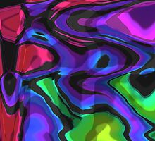 Rainbow Abstract by Rachel Counts