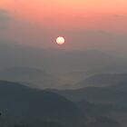 Mountain Morning by Tibby Steedly