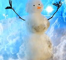 The Snow Maker at work by Beth BRIGHTMAN
