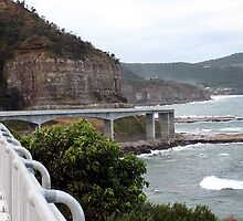 The sea bridge..Coalcliff by robert murray