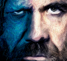 The Hound : F The King and F the Water Sticker