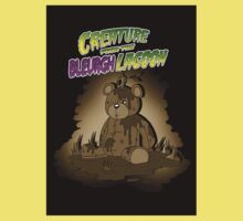 Creature from the Bleurgh Lagoon - in Sepiatone Kids Clothes