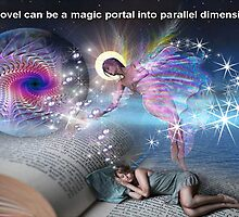 A novel can be a portal into parallel realities by NadineMay