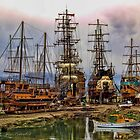 Piratships at Manavgat by © Kira Bodensted