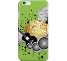 Abstract party design iPhone Case/Skin