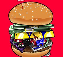 Money Burger by LouisCera