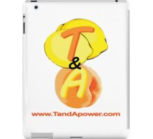 TandA Power THE site that celebrates the power of Tits and Arse iPad Case/Skin