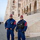 Budapest Parliament Building by Keith Larby