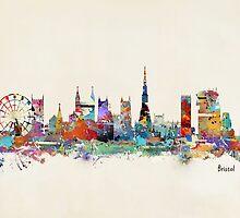 bristol england skyline by bri-b