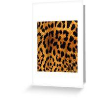 LeopardInside Greeting Card