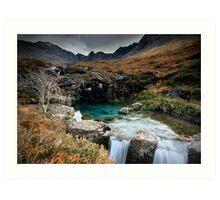 The Fairy Pools : Isle of Skye  Art Print
