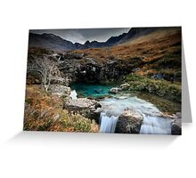 The Fairy Pools : Isle of Skye  Greeting Card