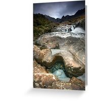 The Fairy Pools : Isle of Skye II Greeting Card