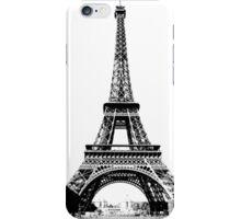 Eiffel Tower Digital Engraving iPhone Case/Skin
