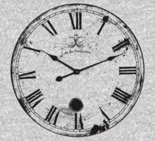 Antique and Vintage Clock Digital Engraving Image Kids Clothes