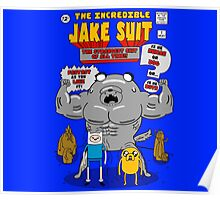 The incredible jake suit Poster