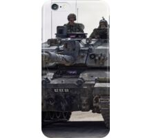 British Army Challenger 2 Main Battle Tank  iPhone Case/Skin