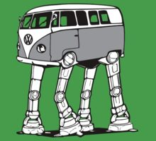 VW Bus AT-AT Imperial Walker Kids Clothes