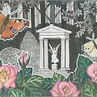 Butterflies in the Princesses Garden near Huis de Paauw by John Grundeken