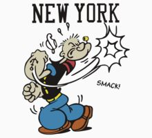 Funny New York Popeye Supreme by Fatbuldog
