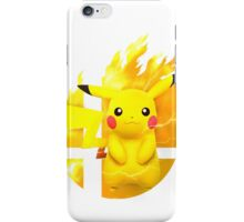 Smash Pikachu iPhone Case/Skin