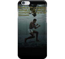 Muhammad Ali - Courage iPhone Case/Skin