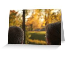 Love in View Greeting Card