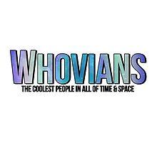 WHOVIANS  by whovianways