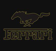 Ferrari Mustang Parody - Black / Yellow by MuethBooth