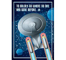 Star Trek - To Boldly Go Photographic Print