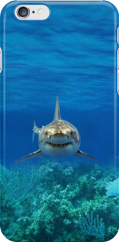 SHARK IPHONE CASE 1 by ALIANATOR