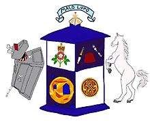 The Doctor's Coat Of Arms : Inspired by the 50th anniversary special by Qooze