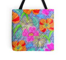 Multicolored Patterns Tote Bag