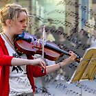Busking in Rundle Mall by indiafrank