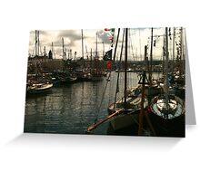 Peel, Isle of Man Greeting Card