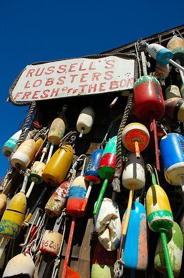 Russell's Lobster Shack by Jim  Walline