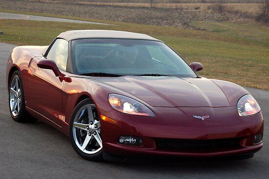 2008 Chevy Corvette by HoltPhotography