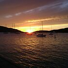 Sunset at The Bitter End Yacht Club, British Virgin Islands #3 by mcbuca02